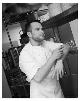 Josh in kitchen 3